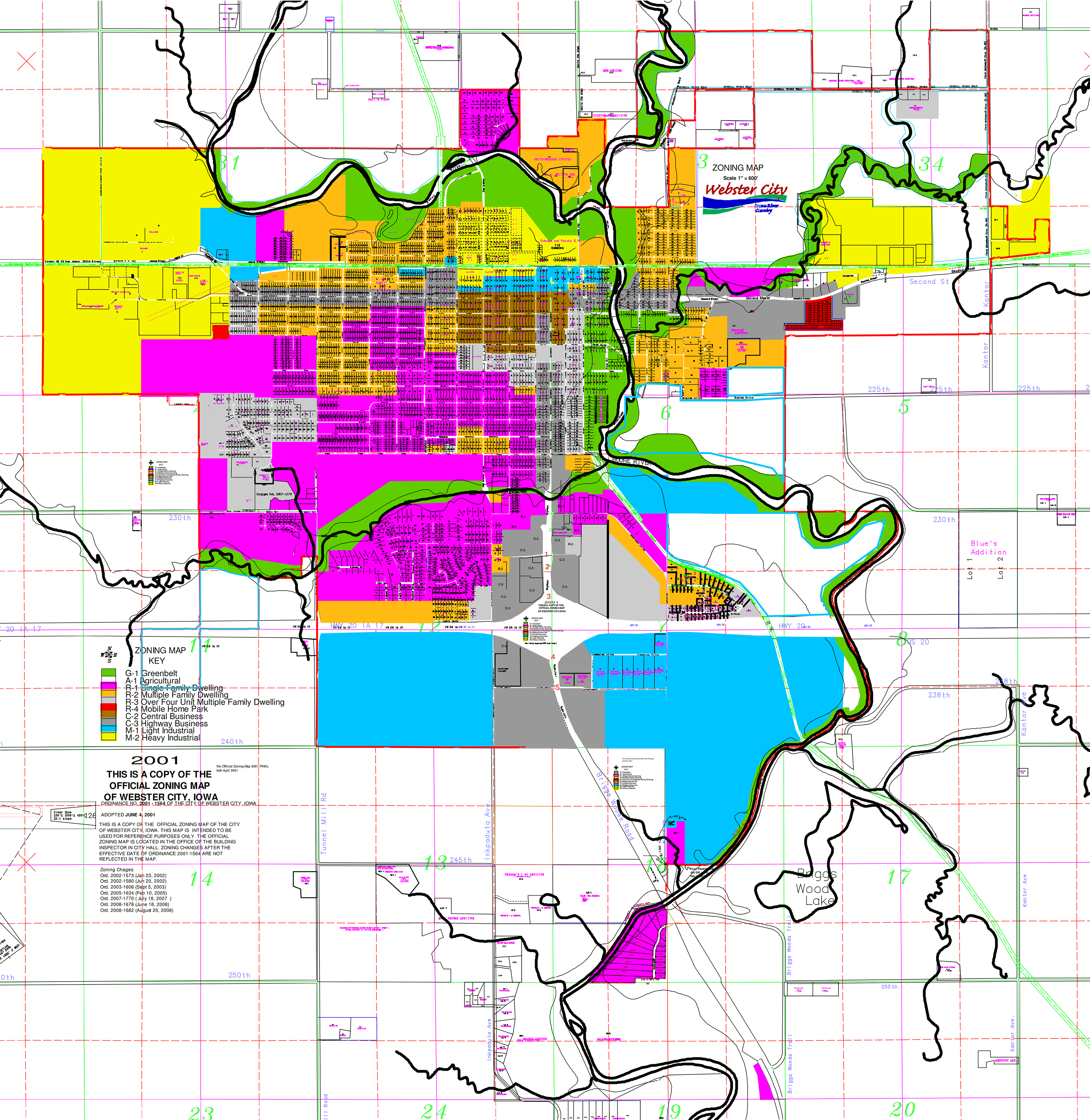 Sixth image of Hamilton County Schools Zoning with Zoning Map – Webster City