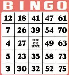 Senior Citizen Bingo Party @ Sampson Room, Fuller Hall Recreation Center | Webster City | Iowa | United States